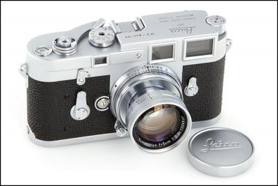 徕卡 Leica M3 双拨 带50/2 缩头 成色不错!