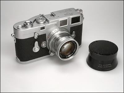 徕卡 Leica M3 + 50/2 银色套机 成色极新 收藏成色!
