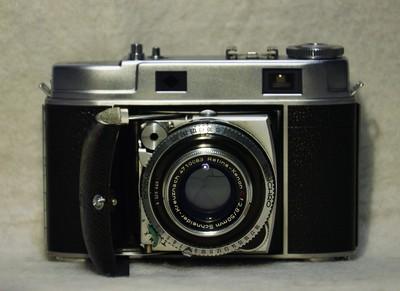 柯达 Retina IIc 135 皮腔折叠相机