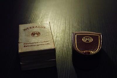 德国 Werralux 测光表