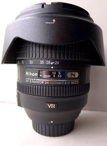 尼康 AF-S 尼克尔 24-120mm f/4G ED VR转让