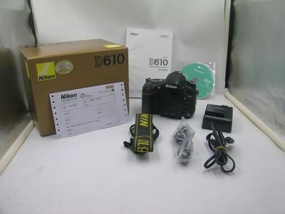 出售 97新 尼康 D610 机身 包装齐全 请看图片