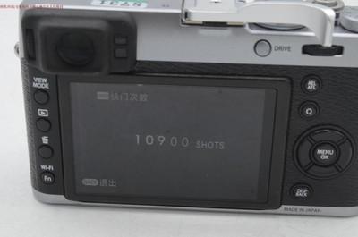 新到9成多新 Fujifilm/富士 X100T 行货带包装 送双手柄 编号8731