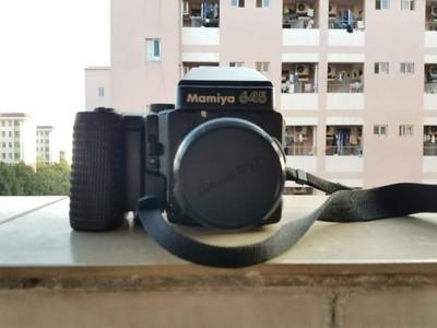 学生党出玛米亚 MamiyaM645Super 120胶片相机 带120/135双后背