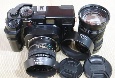玛米亚 7II带80/4和150/4.5 双镜头120套机