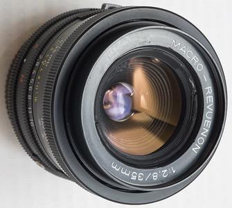 NIKON尼康口西德产MACRO-REVUENON 35 F2.8广角手动镜头1068