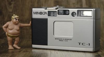 美能达 Minolta TC-1 TC1 成色不错