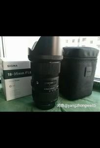 适马 18-35mm f/1.8 DC HSM(A)尼康口