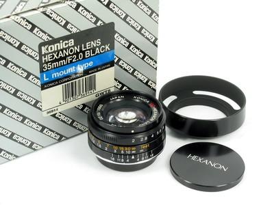 柯尼卡 Konica uc-Hexanon 35/2 L39 黑漆限量版 全新样品