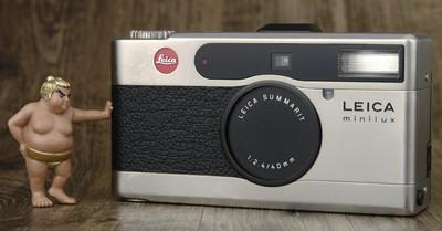 徕卡 Minilux 高档 专业 便携 胶片机