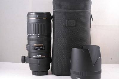 98/适马 APO 70-200mm F2.8 EX DG OS HSM (小黑五代 软袋)