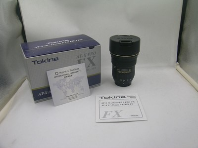 出售 98新 图丽 16-28mm f/2.8 PRO 尼康口 包装齐全 请看图片