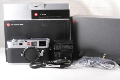 96/徕卡 M8 数码相机 银色 成色极新 (全包套装)快门:8453