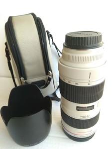 二手好成色极新的佳能 EF 70-200mm f/2.8L USM 小白
