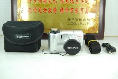 奥林巴斯 C-704 卡片机 家用便携 数码相机 可置换