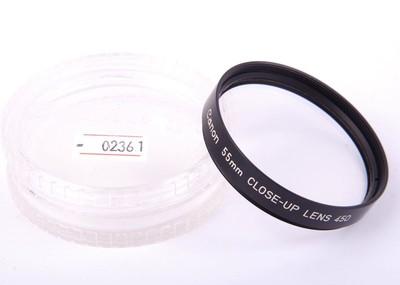 canon/佳能 55mm CLOSE-UP LENS 450 近摄镜片! #02361