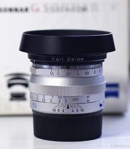 95新 卡尔·蔡司 C Sonnar T* 50mm f/1.5 ZM  徕卡 M口