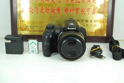索尼 DSC-HX400 数码长焦相机 蔡司镜头 2000万像素 可置换