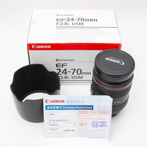 Canon千亿国际娱乐官网首页 EF 24-70mm f/2.8L USM 24-70/2.8 95新 NO:3513