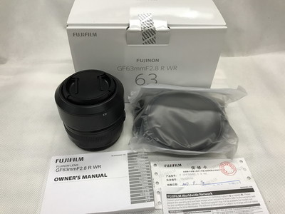 99新行货富士GF63MM F2.8 R WR定焦镜头 中画幅相机镜头63/2.8