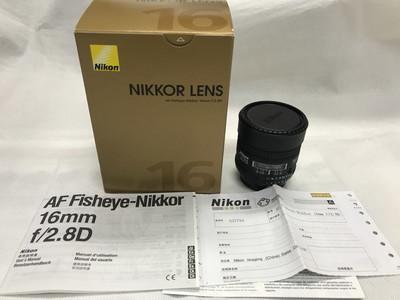 Nikon 尼康 AF 16mm f/2.8D 定焦包装齐全