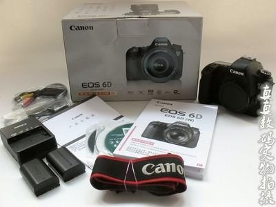 好成色原装佳能 6D 单机 高性价比全副相机 两电原充带包装#3107
