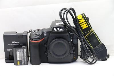 96新二手Nikon尼康 D810 单机 快门8967多次 (1511)【深】