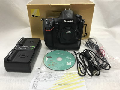 Nikon/尼康D4专业数码单反旗舰相机 支持交换