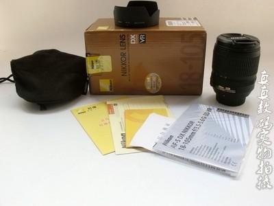 崭新国行尼康AF-S 18-105 F3.5-5.6G ED VR挂机头带包装保卡#1624