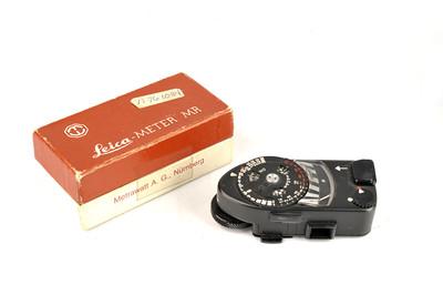 【美品】徕卡 METER MR 测光表 黑色带包装 #33161