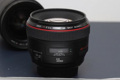 京东国行不跑焦 佳能 EF 50mm f/1.2L USM