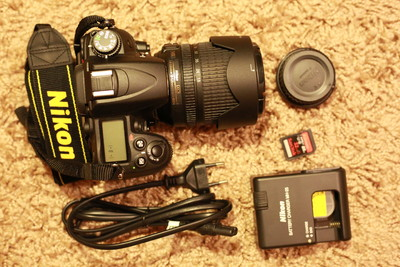 尼康 D7000 18-105套机 全套配件 送卡和相机包