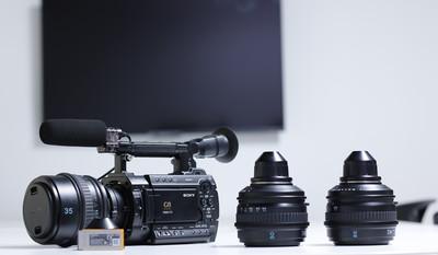个人转S35MM电影级摄影机:索尼 PMW-F3K