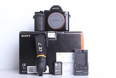 95新二手 Sony索尼 A7S 单机 微单相机(B6811)【京】