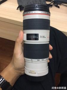 佳能 EF 70-200mm f/4L IS USM(小小白IS) 带样片