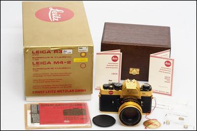 徕卡 Leica R3 + 50/1.4 黄金纪念机 新同品 带包装