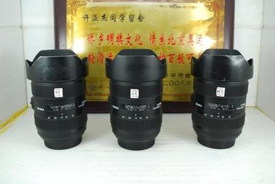 佳能口 适马 12-24 F4.5-5.6 II HSM 单反镜头 二代全画幅超广角