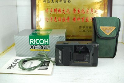 Ricoh 理光 XF-30D 135胶卷傻瓜相机 胶片机 收藏模型道具