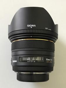 适马新涂层 50mm f/1.4 EX DG HSM 全画幅标准镜头AFs50/1.4