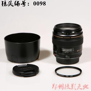 佳能 EF 85mm f/1.8 USM 镜头编号:0098