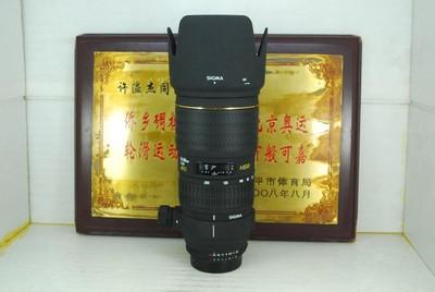 98新 尼康口 适马 70-200 F2.8 HSM 小黑 单反镜头 恒圈长焦人像