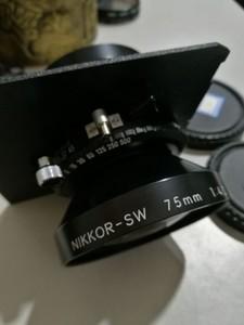 尼康NIKKOR-SW 75/4.5 大画幅座机镜头