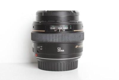 97新二手 Canon佳能 50/1.4 EF 标准定焦镜头(B6870)【京】