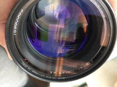 闲置蔡司Planar85 1.4 换佳能 EF 24-70mm f/2.8L USM