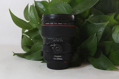 93新二手 Canon佳能 24/3.5 L II TS-E 二代移轴(T06320)【津】