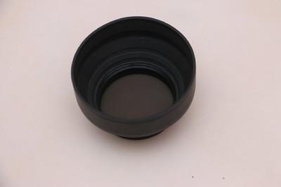 肯高 PRO 1D C-PL(W)超薄圆形偏振镜(72mm) +橡胶折叠遮光罩