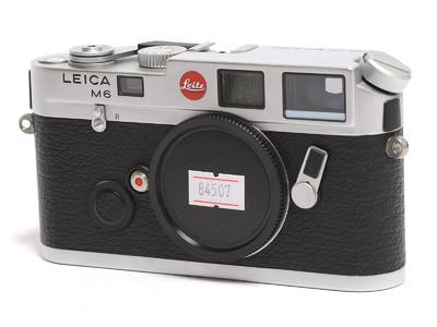 徕卡/Leica M6经典相机 银色 早期Leitz标志 0.72取景器 *超美品*