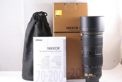 98/尼康 AF-S 70-200mm f/4G ED VR 成色极新(全套包装)
