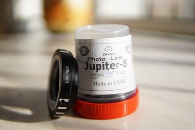 徕卡L39口Jupiter-8M 50mm/f2(送L39-NEX转接环)
