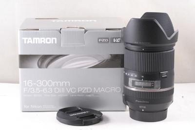 腾龙 16-300mm f/3.5-6.3 Di II VC PZD MACRO(带包装 尼康口 )